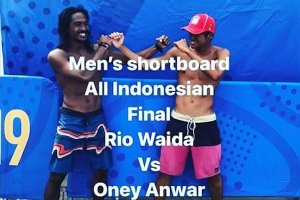 CABOR SURFING INDONESIA FIXED SUMBANG MEDALI EMAS SEA GAMES 2019