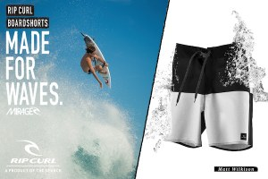 Matt Wilkinson - Mirage Blocker | Made For Waves | Boardshorts by Rip Curl