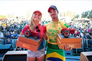 GABRIEL MEDINA DAN LAKEY PETERSON MENANGKAN CT FRESH WATER PRO 2019