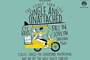 PEMENANG COAST THRU LIFE SINGLE & UNATTACHED INVITATIONAL CLASSIC SINGLE FIN LONGBOARD CONTEST BY VANS