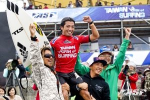 Pemenang Taiwan Open of Surfing