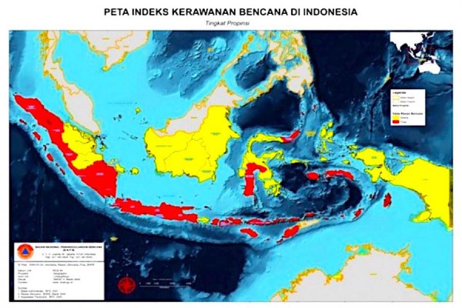 INDONESIA NEGARA INDAH SEKALIGUS NEGARA RAWAN BENCANA ALAM