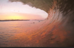 ADAM MELLING WINS GOPRO CHALLENGE AT PENICHE WITH HIS SUNSET TUBE