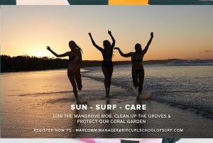 YUK JOIN #MangroveMobBali CLEAN UP dan SURFING LESSON WITH RIP CURL