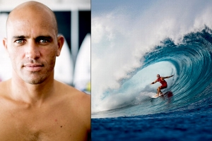 KELLY SLATER Surfing di BALI
