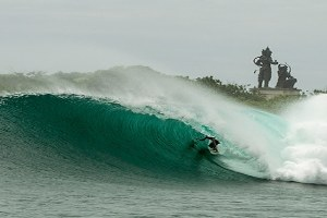Penghancuran MUSHROOM Rock Surf Break DI Nusa Dua, Bali