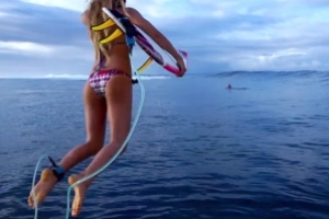 Tia Blanco Gets Pitted At Teahupoo | Paddling Out with Tia Blanco, Ep. 4