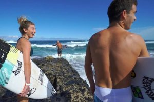 MASON HO DAN ADIKNYA COCO HAVING FUN DI NORTH SHORE, OAHU