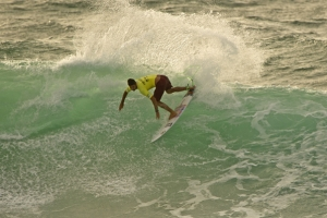 Dion Atkinson doing some damage at Surfest in Newcastle last year